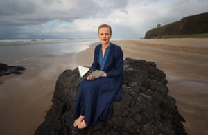 Maxine Peake reads from The Odyssey on Downhill Beach, Coleraine, as part of the Lughnasa FrielFest.