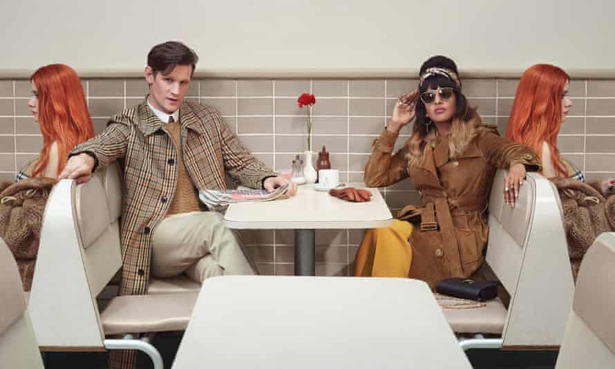 Matt Smith and MIA feature in Burberry's Christmas campaign.