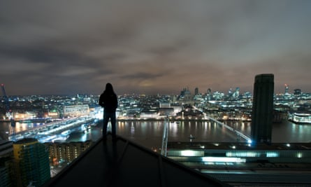 """The city at night ... a place for """"transgression, fantasy and experimentation""""."""