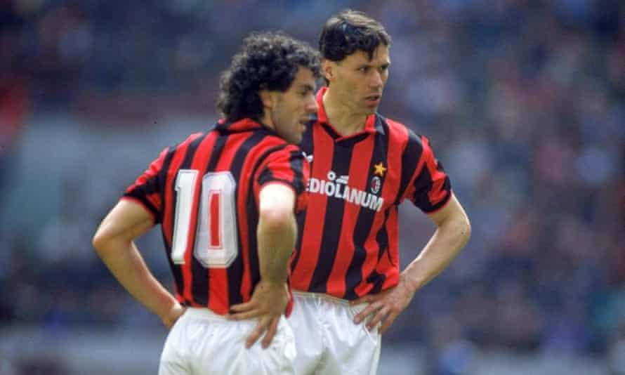 Roberto Donadoni and Marco van Basten