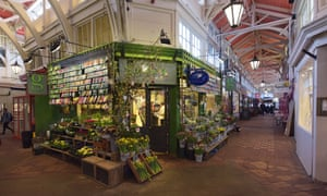 Under wraps: the covered market in Oxford is a great destination for small and independent traders.