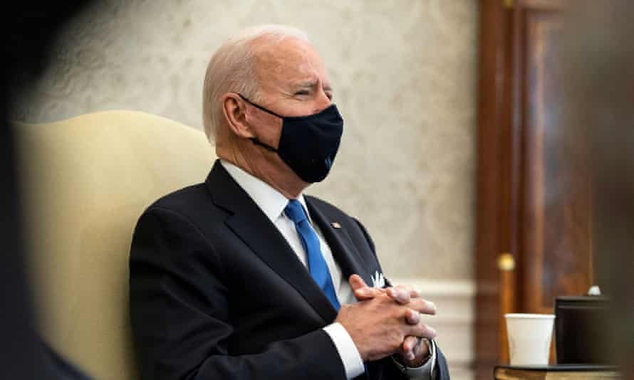 """Biden said states easing restrictions had made a """"big mistake""""."""