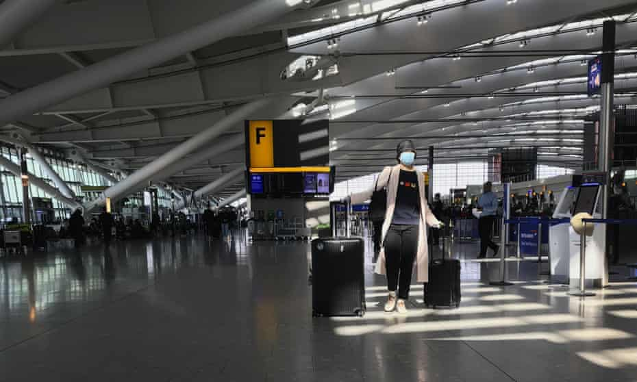 Heathrow airport has criticised the UK government for 'slow progress' in instituting a coronavirus testing regime for passengers in relation to its rivals.