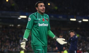 Roberto has lost his West Ham place to David Martin after a string of poor performances.