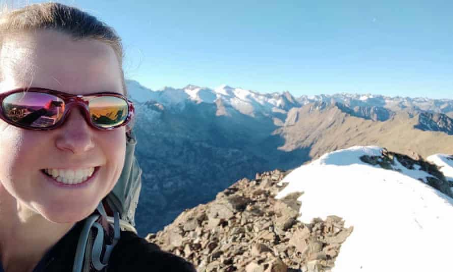 Esther Dingley who went missing in the Pyrenees in November 2020