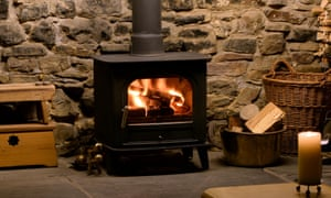 Pollutionwatch: log fires are cosy, but their days may be numbered