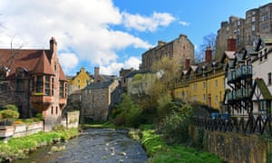 The Water of Leith, Dean village, Edinburgh, Scotland