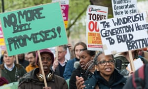 A protest in London in April over the treatment of Windrush citizens