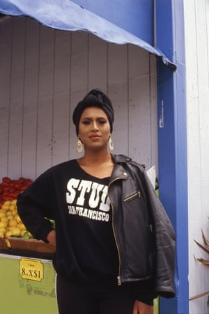 Honey Mahogany, a San Francisco native and co-founder of the Compton's Transgender Cultural District.