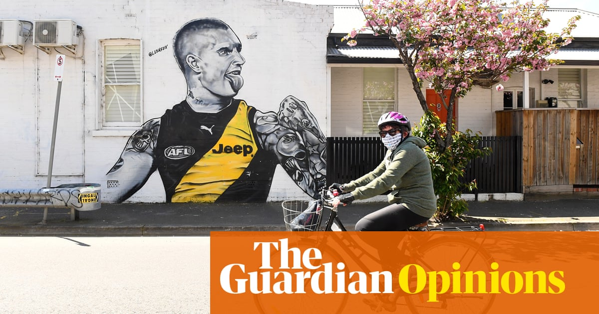 Prowling our living rooms: the reality of AFL grand final day in locked-down Melbourne | Jonathan Horn