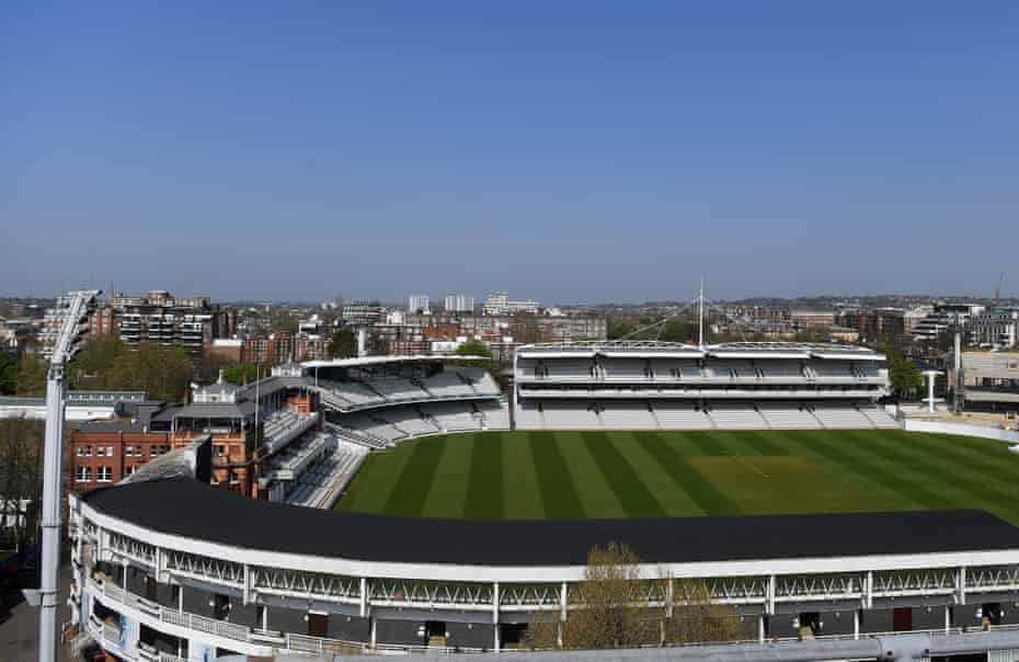 A view from outside and into Lord's.