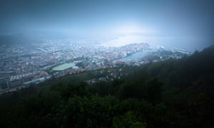 Despite its unspoilt reputation, Bergen's air pollution is a major concern for residents.