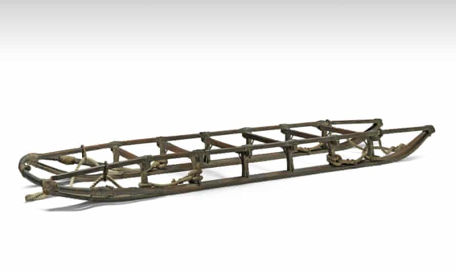 Sledge from Shackleton's Nimrod Antarctic expedition.