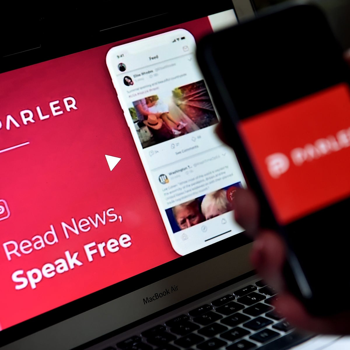 Parler The Social Network That S Winning Conservative Recruits Social Media The Guardian
