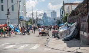 Cracolândia ... sem paralelos em nenhuma cidade do mundo. Fotografia: Brazil Photo Press/LatinContent/Getty Images