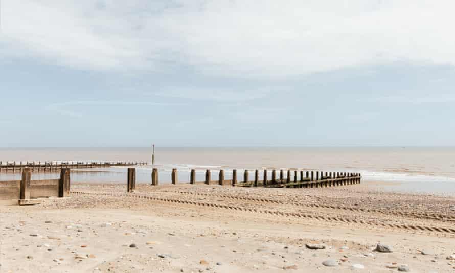 Pantai di Hornsey, Yorkshire.