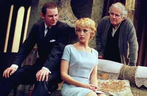 The Homecoming Lia Williams (Ruth), Ian Hart (Lenny) and Ian Holm, directed by Robin Lefevre. Comedy Theatre, 2001