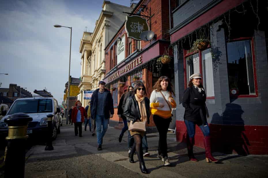 The High Street, Wavertree, Liverpool.