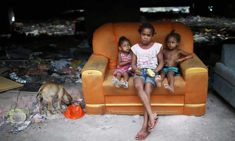 rio favela children olympics
