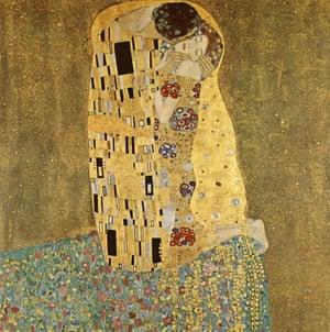 The Kiss, by Gustav Klimt.