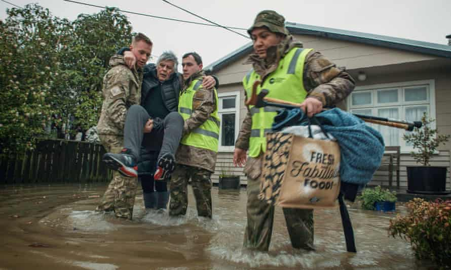 New Zealand Defence Force Buller District Flood Support 17th-18th of July, 2021