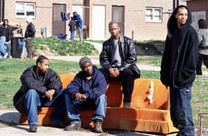 The cast of The Wire.