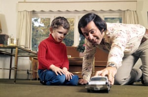 Terry Wogan at the family home