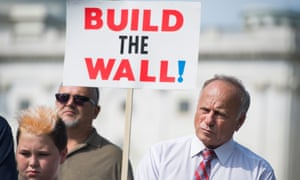 Steve King attends a rally to highlight crimes committed by undocumented immigrants, in September.