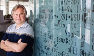 Eugene Kaspersky at Kaspersky Lab headquarters in Moscow in 2014.
