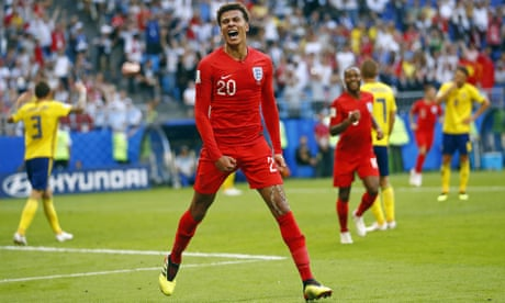 Dele Alli finally finds the freedom to make his mark on world stage | Dominic Fifield