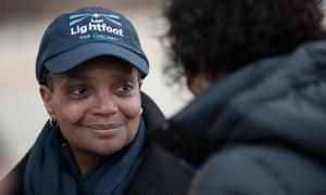 Chicago mayor Lori Lightfoot