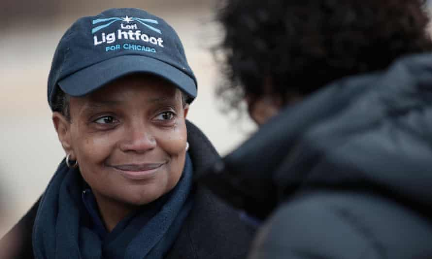 Lori Lightfoot won in a landslide victory to become Chicago's mayor, defeating Cook county board president Toni Preckwinkle.