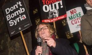 Stop the War chair Lindsey German