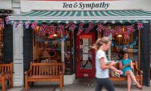 British restaurant Tea & Sympathy on Greenwich Avenue in New York.