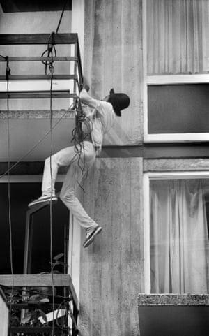 DJ Lepke of the Dread Broadcasting Corporation, Notting Hill Carnival, 1981.