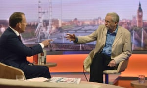 Jeremy Corbyn on the Andrew Marr Show before he was elected Labour leader