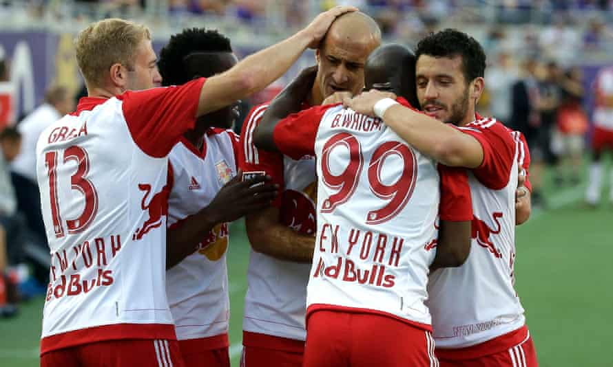 The New York Red Bulls barely had to do more than turn up against their local rivals