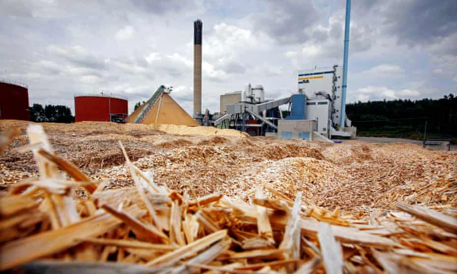 Waste wood provides 90% of Växjö's heat and a quarter of its electricity via this combined cooling, heat and power plant.