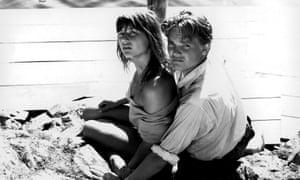 Harriet Andersson and Lars Ekborg in Ingmar Bergman's Summer with Monika.