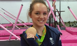 Gymnast Amy Tinkler, who won a bronze medal in the women's floor exercise at the Rio Olympics, received her GCSE results today.