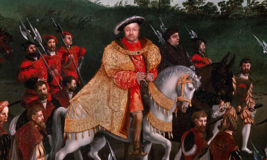 Henry VIII on his 1520 expedition to France.