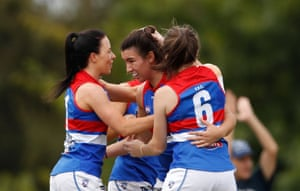Aflw Dogs Defeat Pies To Go Game Clear On Top Of The Ladder As It