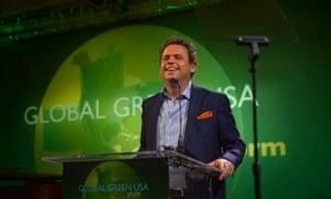 Australian solar energy entrepreneur Danny Kennedy speaking at the Global Green USA conference.