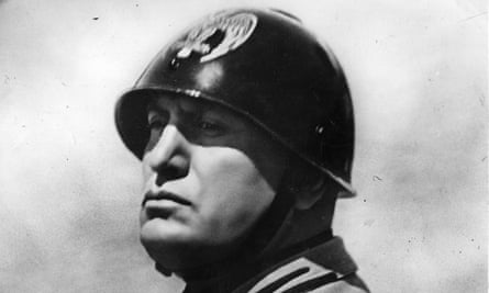 Benito Mussolini, whose rise forms part of the backdrop to Louisa Young's new novel.