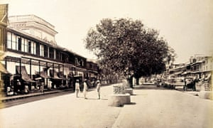 Chandni Chowk in the 1860s, photographed by Samuel Bourne.