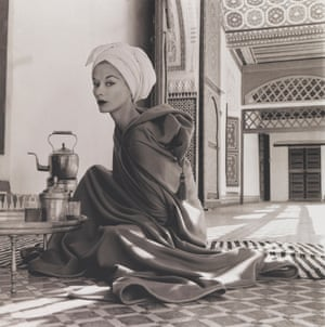 Woman in Moroccan Palace (Lisa Fonssagrives-Penn), Marrakech, 1951, printed 1969