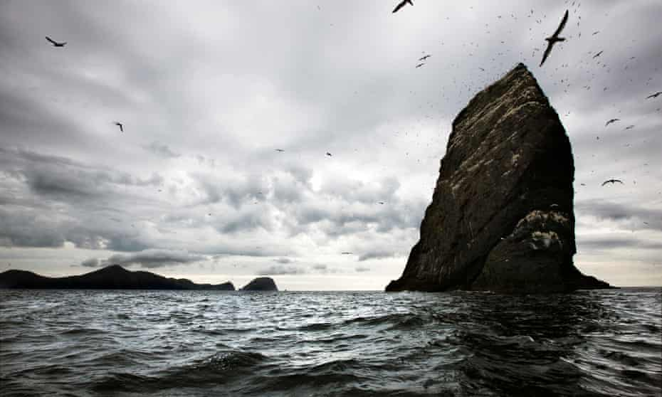 Deep water … the archipelago of St Kilda in Scotland's Outer Hebrides.