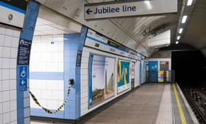 4G mobile phone technology will go live within tunnels on most of the Jubilee line in March 2020.