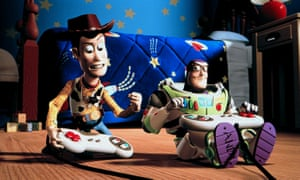 Woody and Buzz Lighyear in Toy Story 2.