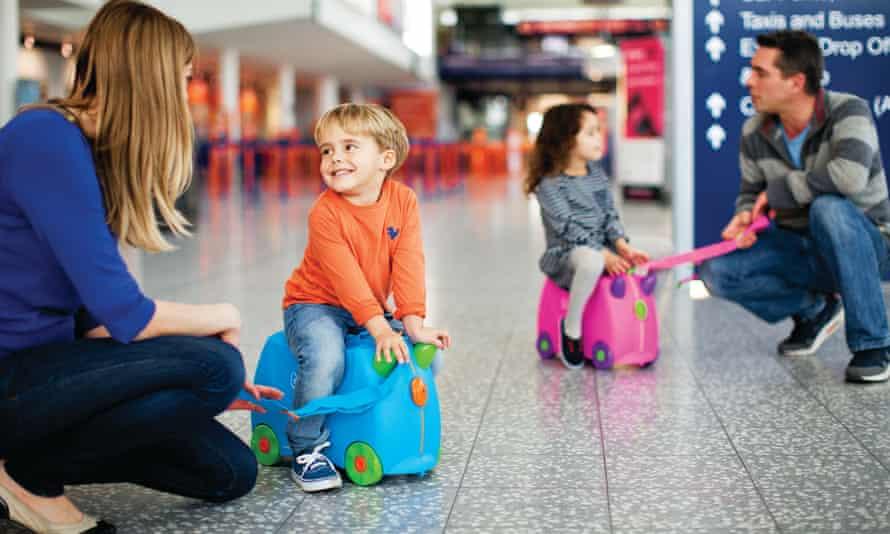 Trunki children's luggage